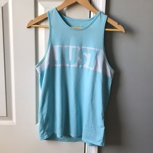 """Nike Dri-Fit """"Just Do It"""" Muscle Tee"""